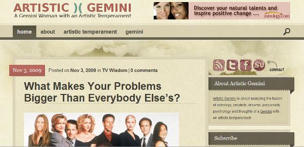 Artistic Gemini