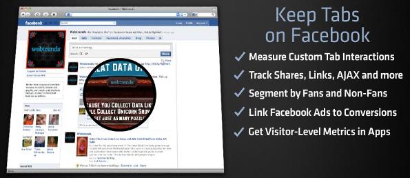 Webtrends for Facebook