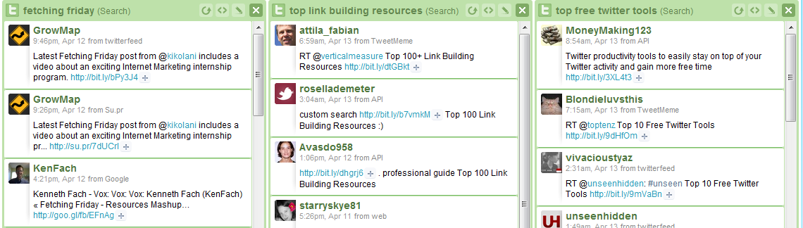 HootSuite Post Retweet Tracking