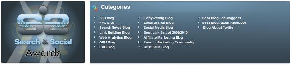 Search & Social Awards