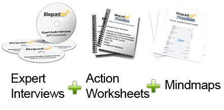 BlogcastFM Expert Interviews, Mindmaps, Worksheets