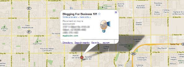 Geolocation and Business Blogging