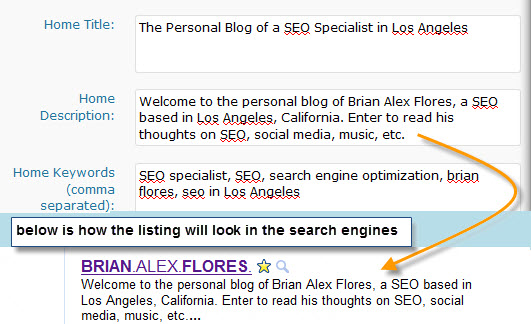 All-in-One SEO WordPress Plugin - Meta Description