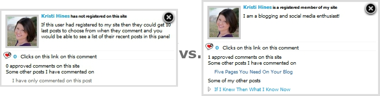 CommentLuv 2.9 Panel Dropdown