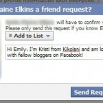 Choosing To Friend or Unfriend on Facebook