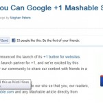 Your Guide to the Google +1 Button