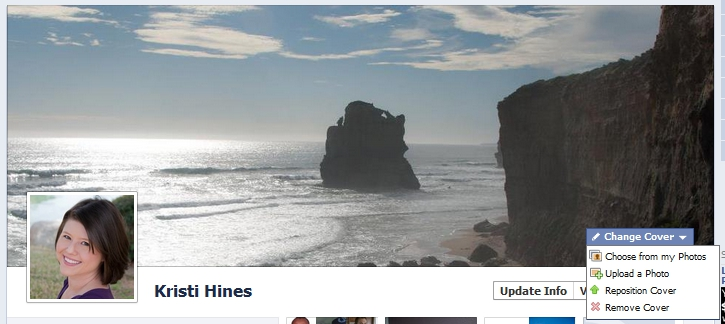 New Facebook Personal Profile Timeline Cover