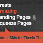 Thesis Awesome Sales Landing Page