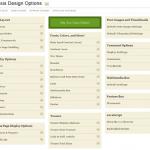Thesis Framework Design Options Admin Panel