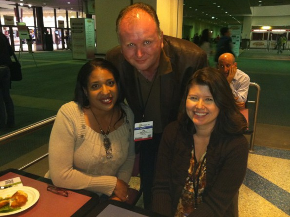 Blog World 2011 LA - Kristi Hines, Naomi Trower, and Are Morch