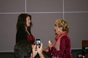 Blog World LA 2011 - Network Solutions Lunch with Cloris Leachman