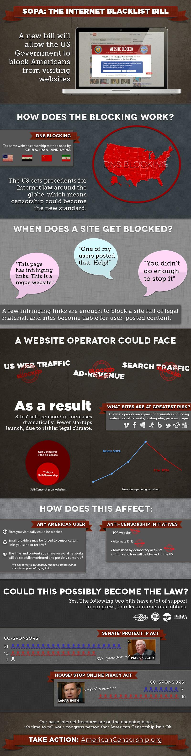 SOPA Infographic