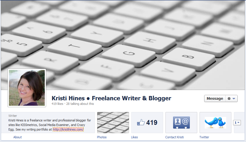 New Facebook Pages Timeline Cover Photo
