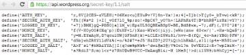 wordpress-secret-keys
