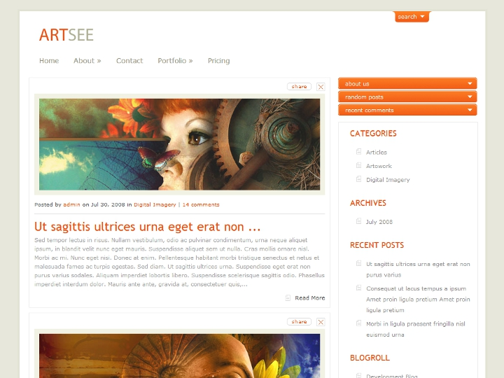 elegantthemes-review-artsee-theme-preview