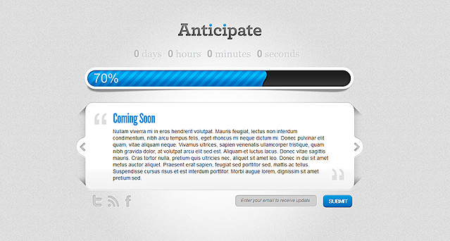 ElegantThemes Coming Soon Page Plugin