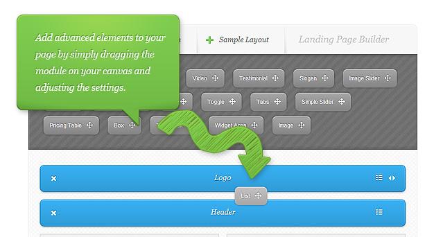 ElegantThemes - Drag n Drop Page Builder