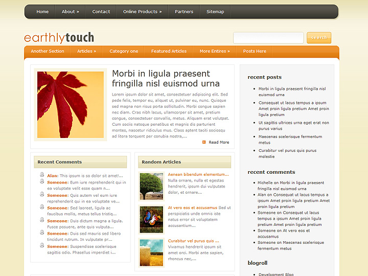 elegantthemes-review-earthly-touch-theme-preview