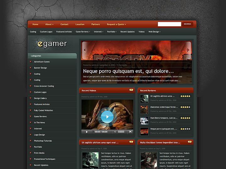 elegantthemes-review-egamer-theme-preview