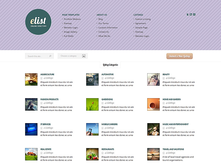 elegantthemes-review-elist-theme-preview