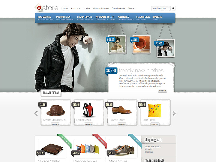 elegantthemes-review-estore-theme-preview