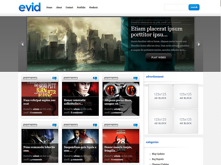 elegantthemes-review-evid-theme-preview