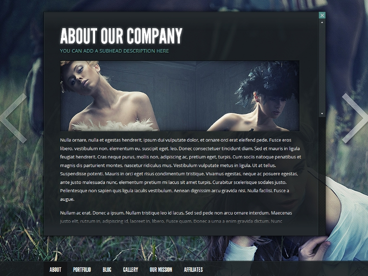 elegantthemes-review-gleam-theme-preview