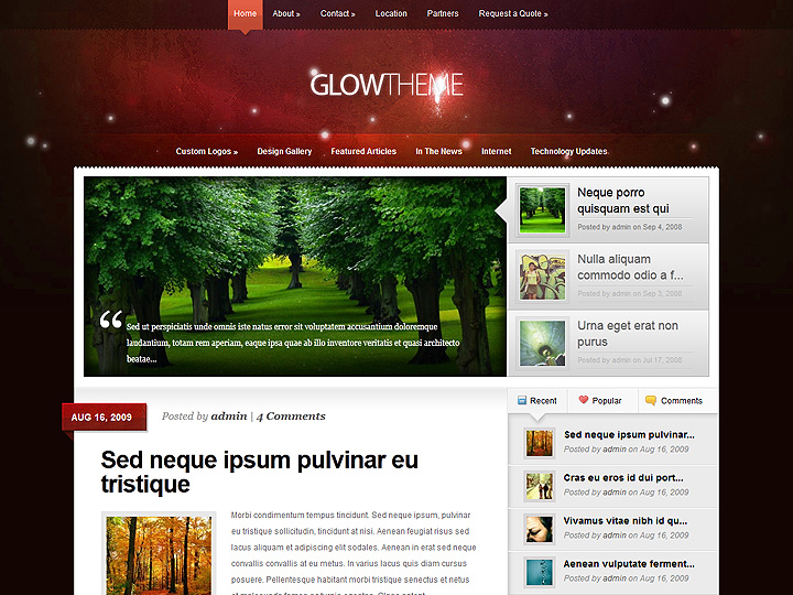 elegantthemes-review-glow-theme-preview