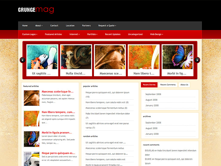 elegantthemes-review-grunge-mag-theme-preview