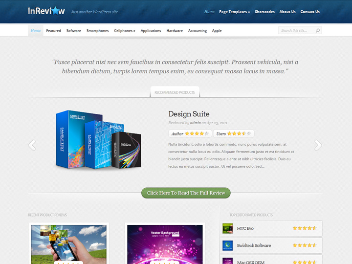 elegantthemes-review-inreview-theme-preview