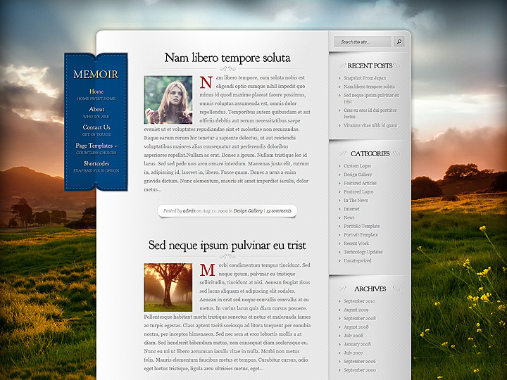 elegantthemes-review-memoir-theme-preview