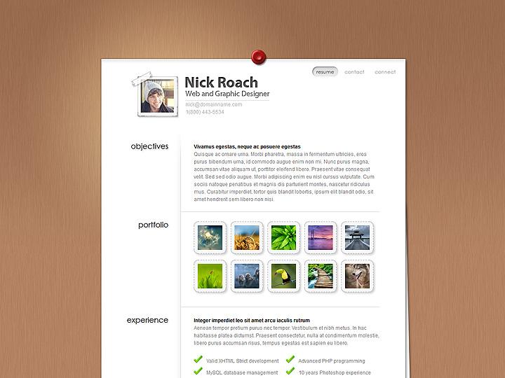 elegantthemes-review-my-resume-theme-preview
