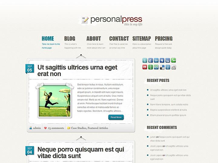 elegantthemes-review-personal-press-theme-preview