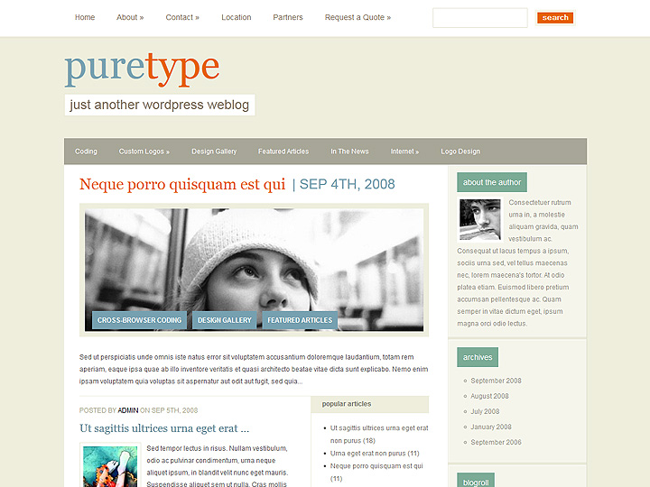 elegantthemes-review-puretype-theme-preview