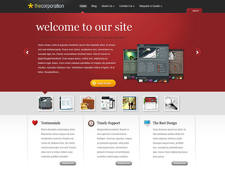 elegantthemes-review-the-corporation-theme-preview