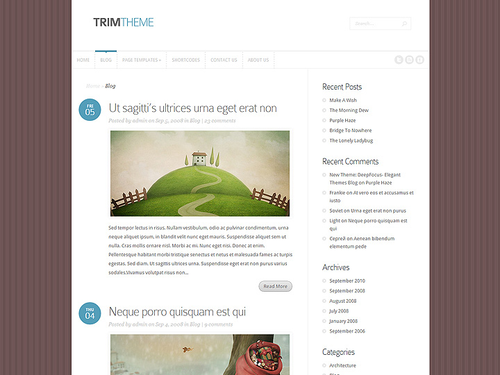 elegantthemes-review-trim-theme-preview