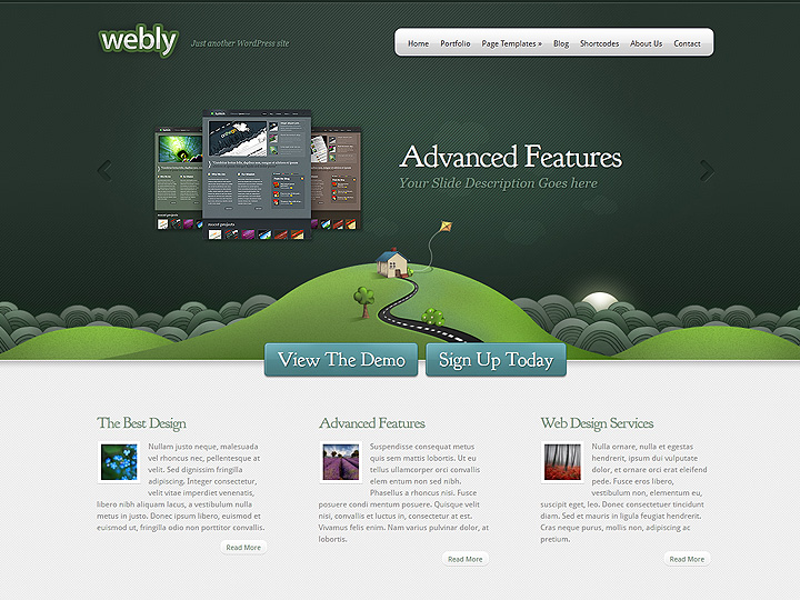 elegantthemes-review-webly-theme-preview