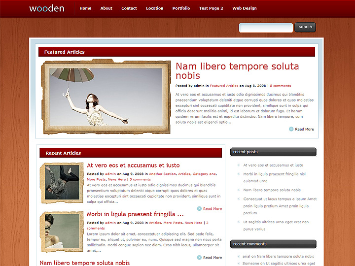 elegantthemes-review-wooden-theme-preview