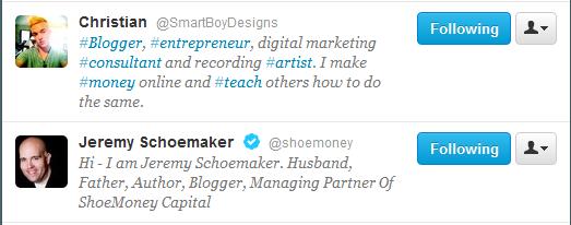 bloggers on twitter
