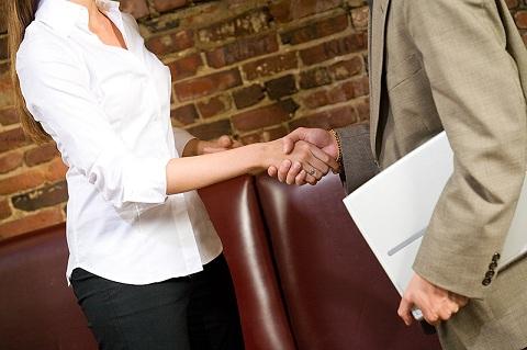 networking hand shake