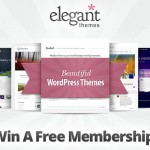 Enter to Win 1 of 3 Lifetime Memberships to ElegantThemes