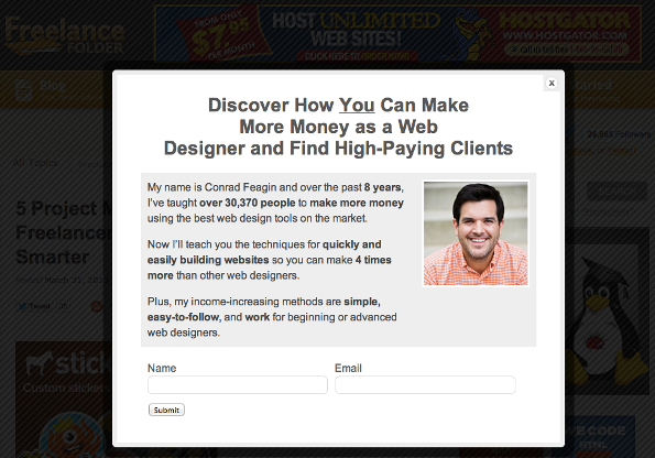 popup-opt-in-form-freelance-folder