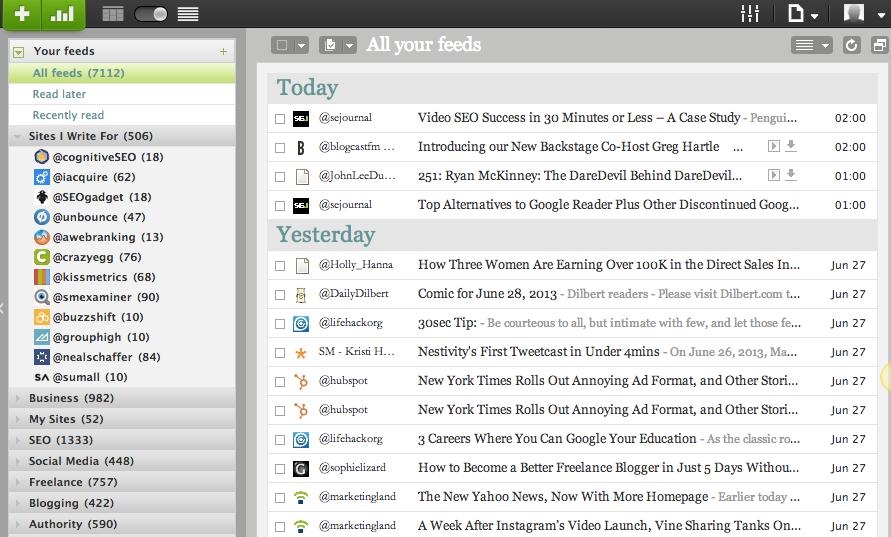 Google Reader Alternative Web-Based RSS Readers - Netvibes