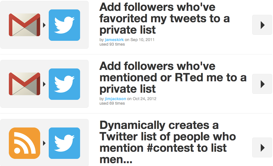 ifttt-twitter-recipes