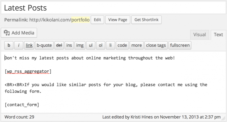 latest-posts-portfolio-page