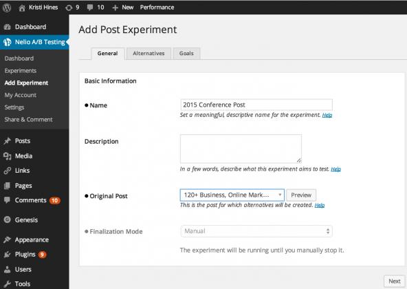 nelio-ab-testing-wordpress-plugin-review-2