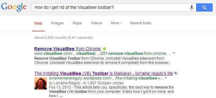 VB toolbar post ranking proof