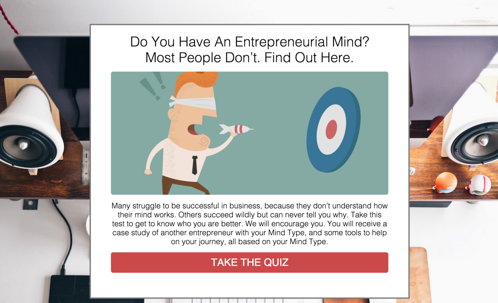 lead generation quiz