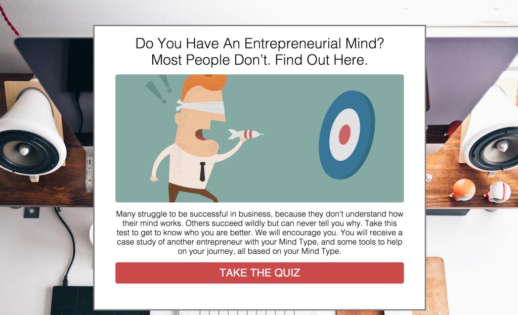 lead generation quiz