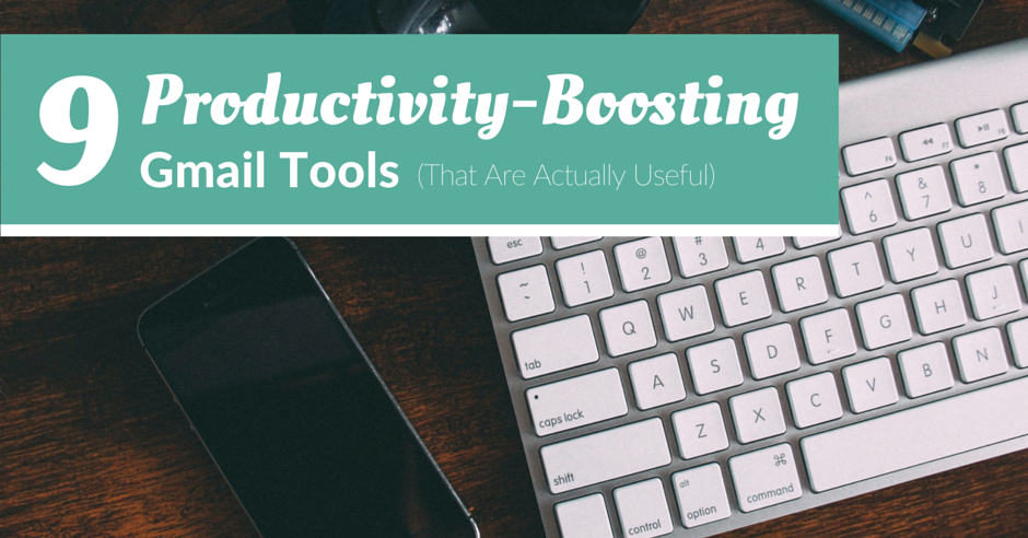 gmail productivity tools